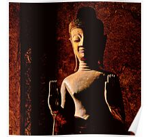 Buddha Statue in Laos Poster