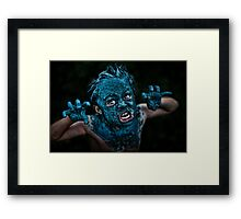 Contact High Framed Print
