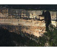 Cliffs of Kanangra Walls, NSW Photographic Print