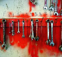 Wrenches on Red by RevJoc