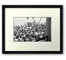 Italian party, Clerkenwell Framed Print
