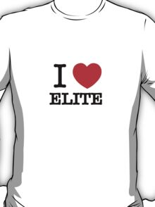 I Love ELITE T-Shirt