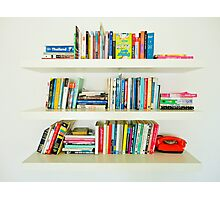 Bookshelf Photographic Print