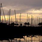 Sunrise Marina by Peyton Duncan