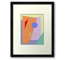 Taking Shape Framed Print