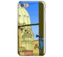 Rome window iPhone Case/Skin