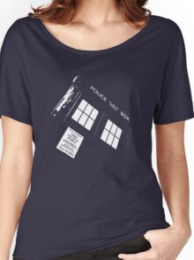 Doctor Who – The TARDIS Women's Relaxed Fit T-Shirt