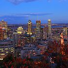 Montreal Skyline by Cameron B