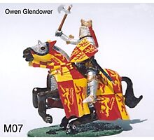 Owen Glendower last king of Wales Photographic Print