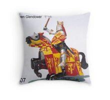 Owen Glendower last king of Wales Throw Pillow