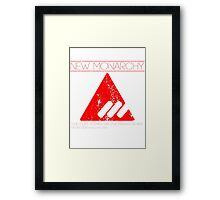 New Monarchy Legion Framed Print