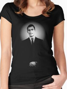 Rod Serling Women's Fitted Scoop T-Shirt
