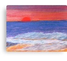 Beyond the Sunset and Sea. Canvas Print