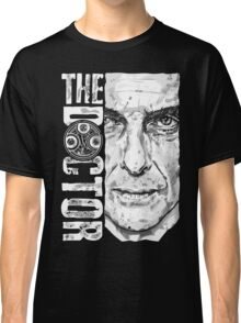 New Beginnings Number 12 - Doctor Who - Peter Capaldi Classic T-Shirt