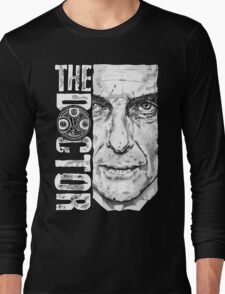 New Beginnings Number 12 - Doctor Who - Peter Capaldi Long Sleeve T-Shirt