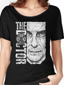 New Beginnings Number 12 - Doctor Who - Peter Capaldi Women's Relaxed Fit T-Shirt