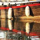 Reflections of a Barge by MichelleRees