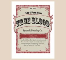 True Blood Vintage Label by biggybox