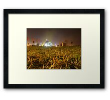 Pyramid Stage, Glastonbury Festival 2007 Framed Print