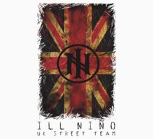 Distressed Union Jack (White) - Ill Nino UK Street Team by illninouk