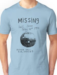 Missing - Glitter Ball T-Shirt