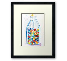This One's For All the Marbles~and the Shooters Framed Print
