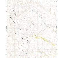 USGS Topo Map Nevada Odell Mountain 319693 1980 24000 by wetdryvac