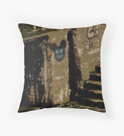 Darkness Beckons Throw Pillow