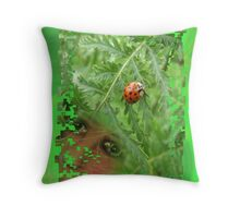 Nature versus Nurture Throw Pillow