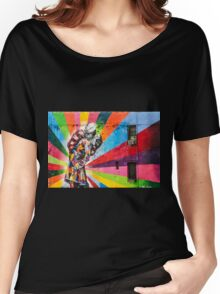Times Square Kiss in Chelsea Women's Relaxed Fit T-Shirt