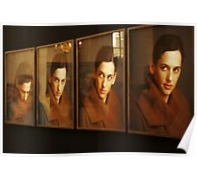 Portraits and reflections Poster