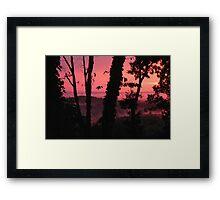 Primeval Scene Framed Print