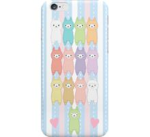 Alpaca macaron phone case iPhone Case/Skin