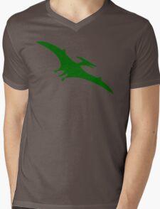 Pterodactyl Dinosaur  Mens V-Neck T-Shirt