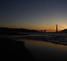 Pelican Golden Gate  by fototaker