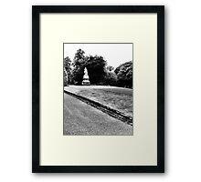 Lister monument Framed Print