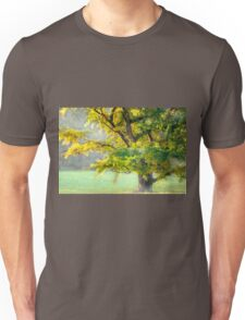 The misty tree Unisex T-Shirt