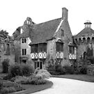 Scotney Castle in Black and White by hootonles