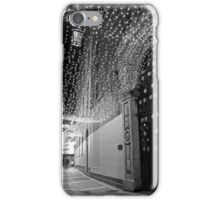 Christmas lights at Johnson's Court iPhone Case/Skin