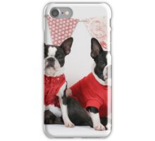 Frances and Memo Christmas ready! iPhone Case/Skin