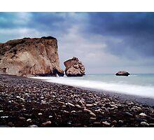 Aphrodite's Rock Photographic Print