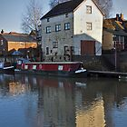 River Avon, Tewkesbury, Gloucestershire by Nick  Gill