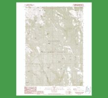 USGS Topo Map Oregon Telephone Butte 281761 1990 24000 One Piece - Short Sleeve