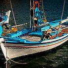 Greek Fishing Boat by Kofoed