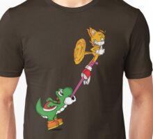 Yoshi Vs. Tails Unisex T-Shirt