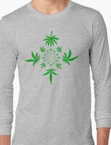 Weed Long Sleeve T-Shirt