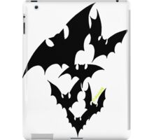 Going Batty (black) iPad Case/Skin