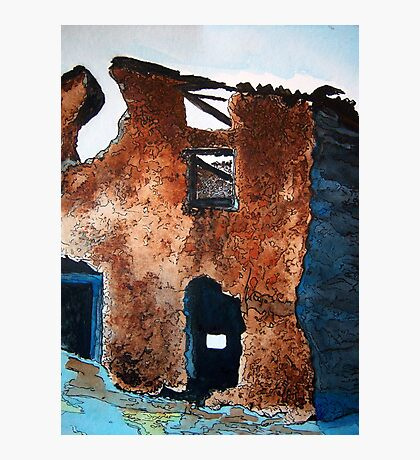 Adobe Ruins Photographic Print
