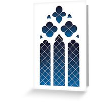 Gothic Window Greeting Card