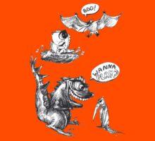 Little Dino Growing Up by Anastasia Zabrodina